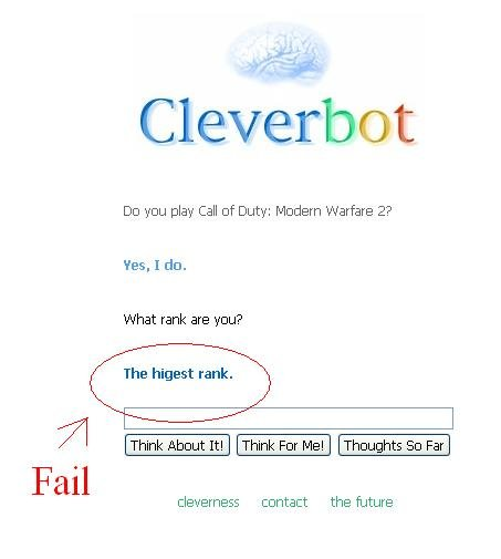 cleverbotfail - cleverbot can't spell