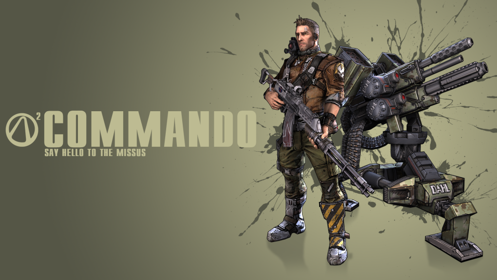 commando - awesome borderlands 2 wallpapers