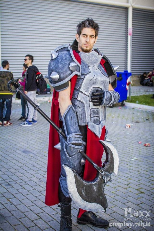 darius - ultimate league of legends cosplay collection