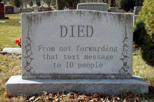died - do your part