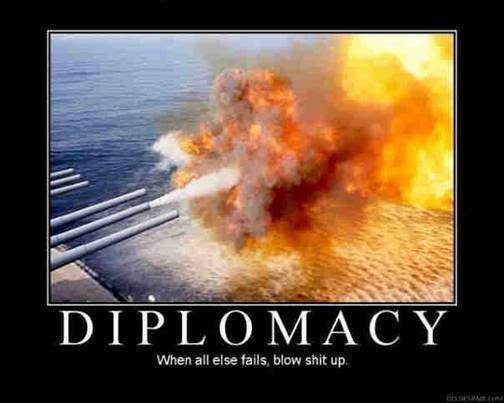 diplomacy - well, why not?