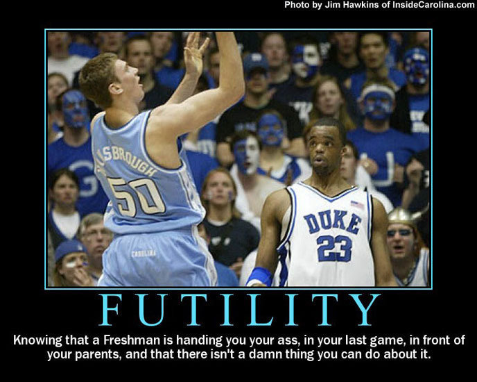 duke20futility20from20hansbrough - motivational posters!!!