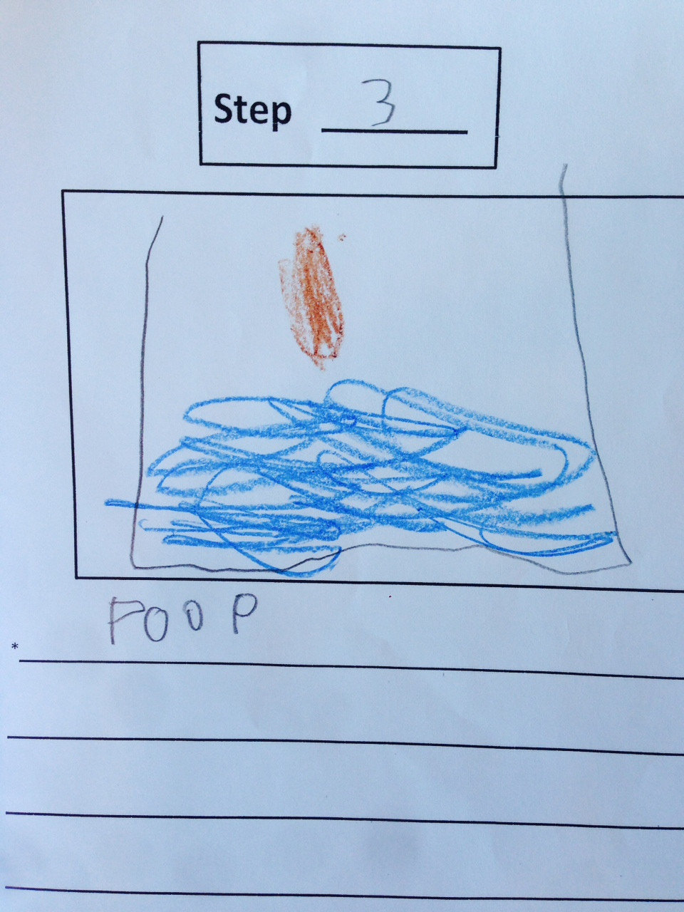 """eb8xrqt - one kid made a """"how to poop"""" instructional booklet in kindergarten today"""