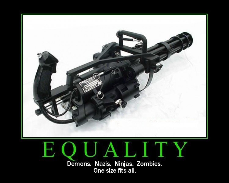 equality - it equal enough for me