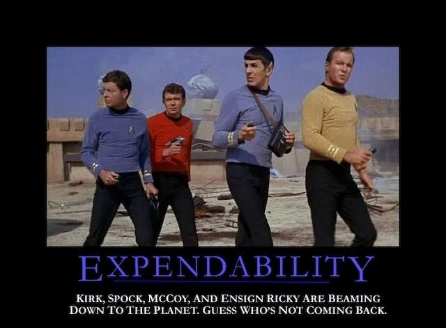 expendability - well, why not?