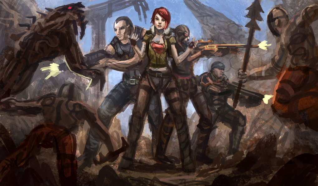 fanart - awesome borderlands 2 wallpapers