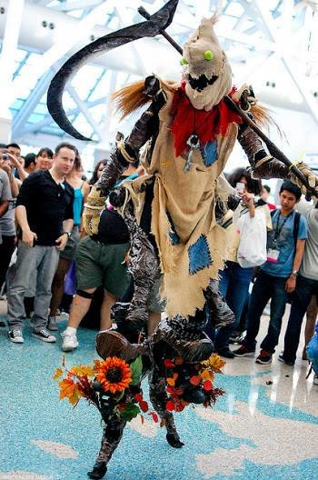 fiddle - awesome league of legends cosplay
