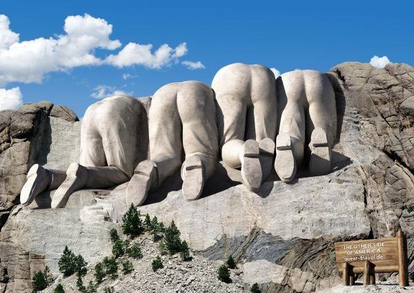 ghax21a - mount rushmore other side you may never knew about