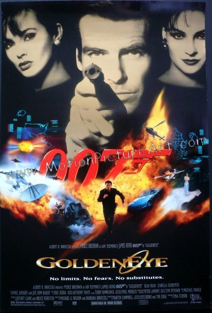 goldeneyemovieposterusa - what are your top five bond movie