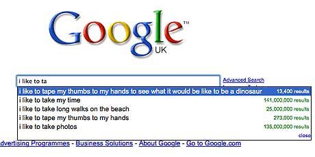 i like to ta 1477723a - best ever google search suggestions