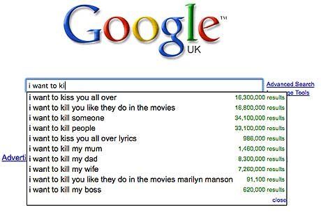 i want to ki 1477728a - best ever google search suggestions