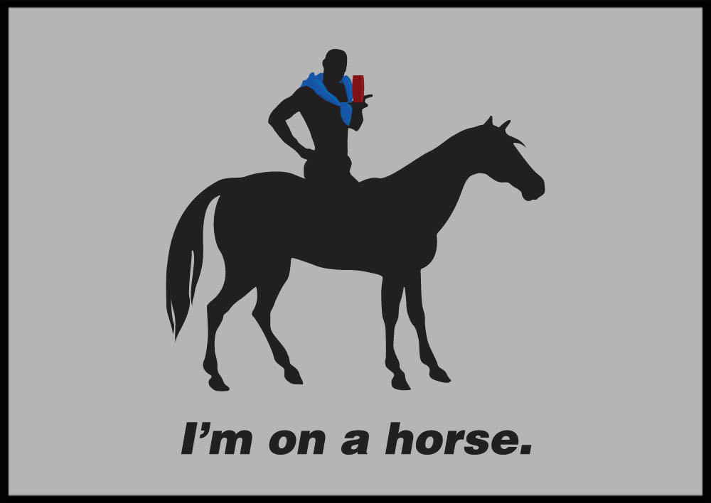imonahorse3 1 2010 3 - awesome t-shirt prints
