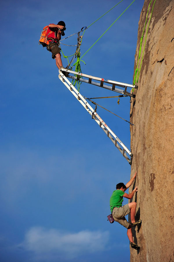 ketrf - ever wondered how photographers take pictures of rock climbers?