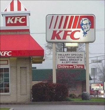 kfcsign - funny signs