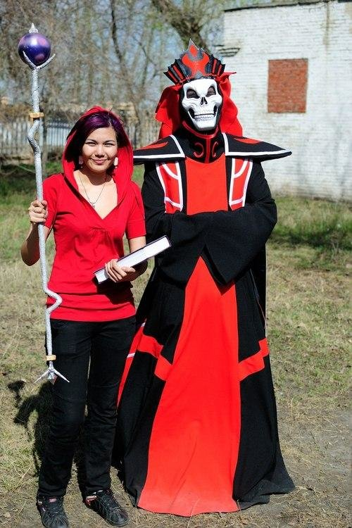 karthus - awesome league of legends cosplay