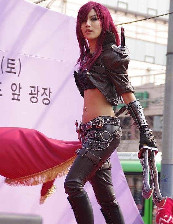 katarina4 - awesome league of legends cosplay