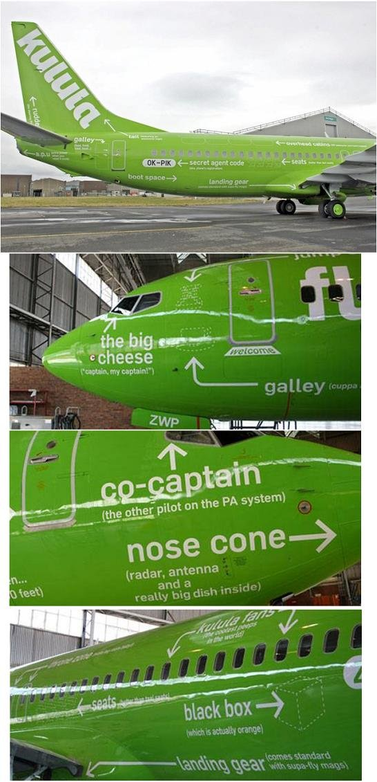 kulula2 - airlline with a sense of humor