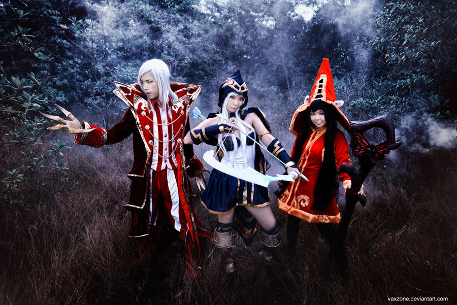 lol cosplay 2013 - ultimate league of legends cosplay collection