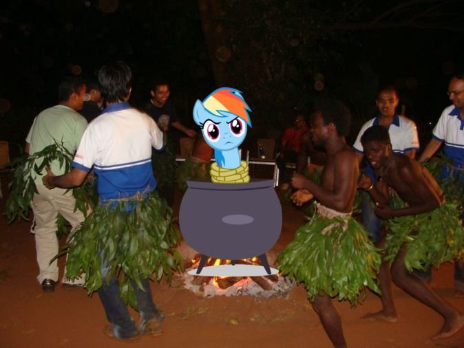 luau - ponies in real life