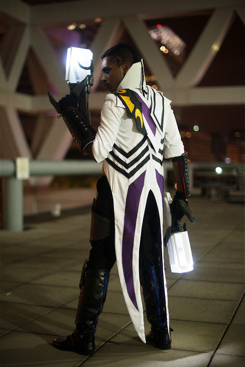 lucian - awesome league of legends cosplay