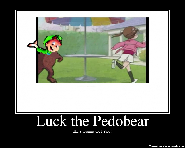 luckthepedobear - epic motis part#3: pedobear time!