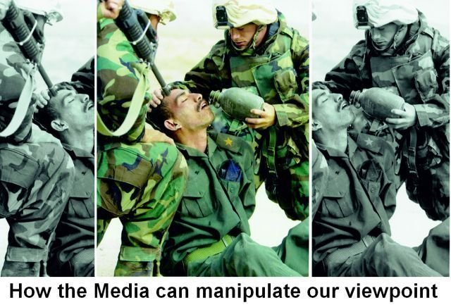 media - how the media can manipulate our viewpoint!