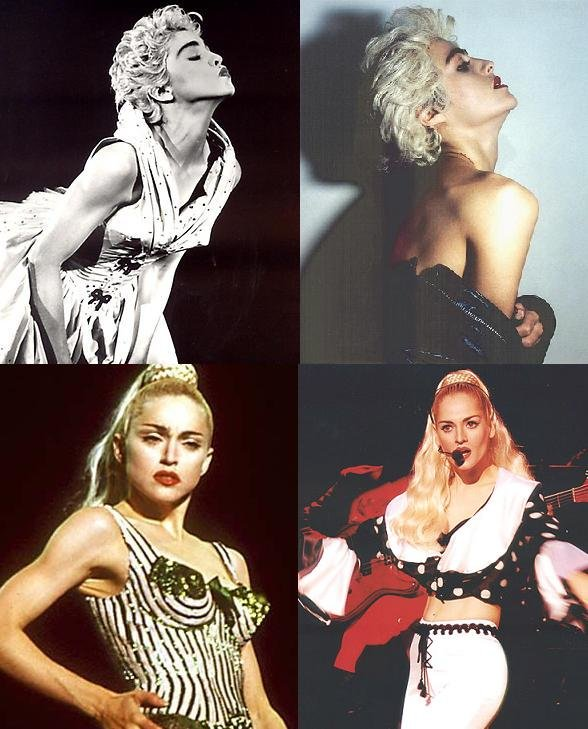 madonna - celebrity look a likes
