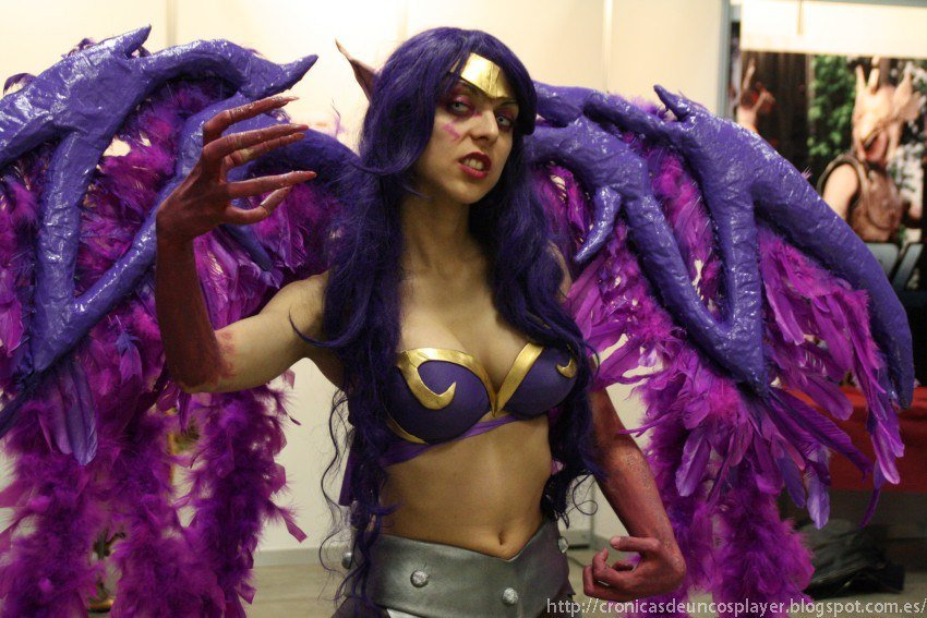 morgana - awesome league of legends cosplay