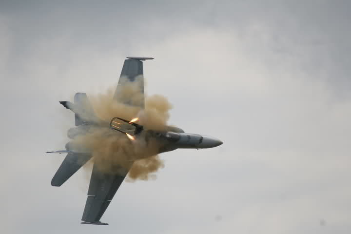 ngt94zz - jet burst into a ball of fire after a near-vertical crash.