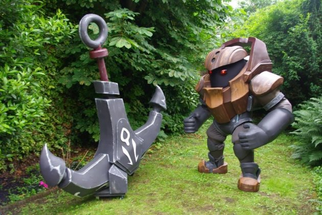 nautilus - ultimate league of legends cosplay collection