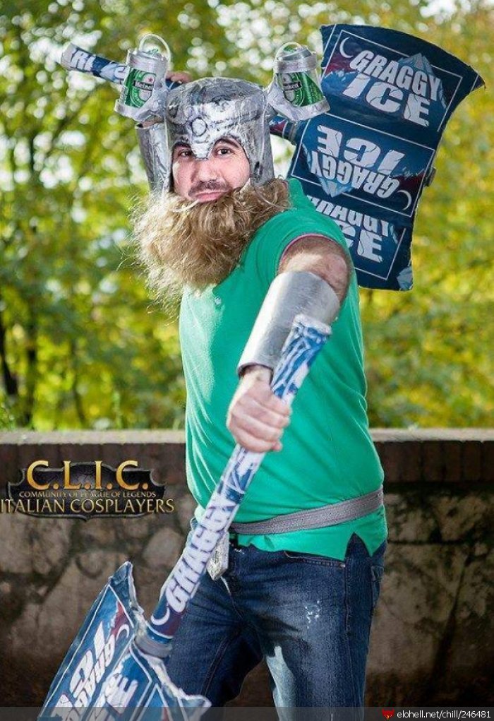 olaf - ultimate league of legends cosplay collection