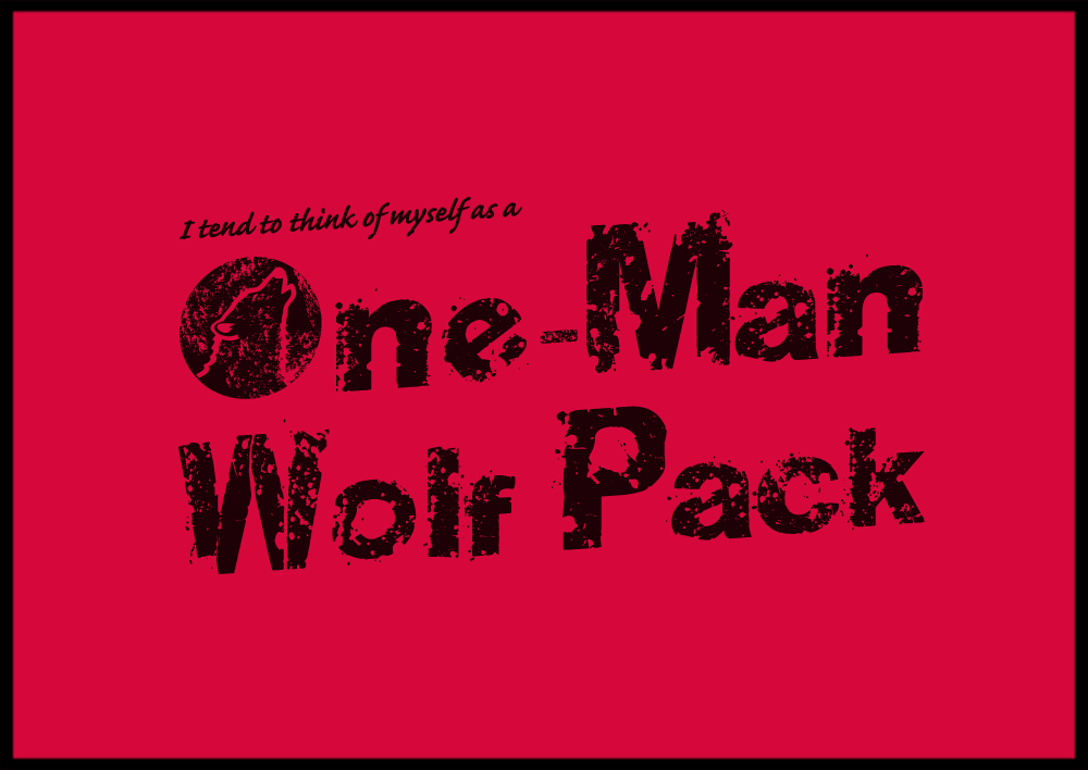 onemanwolfpack12 2009 3 - awesome t-shirt prints