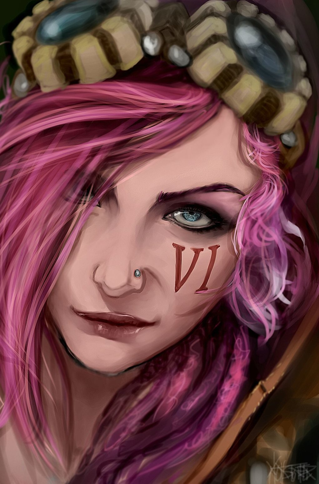 original vi - the fans art of league of legends