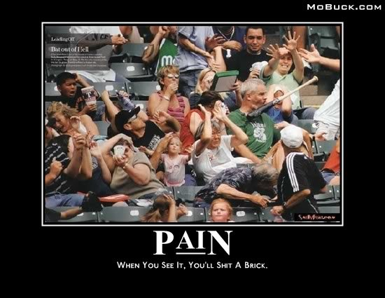 pain - some more motavational posters