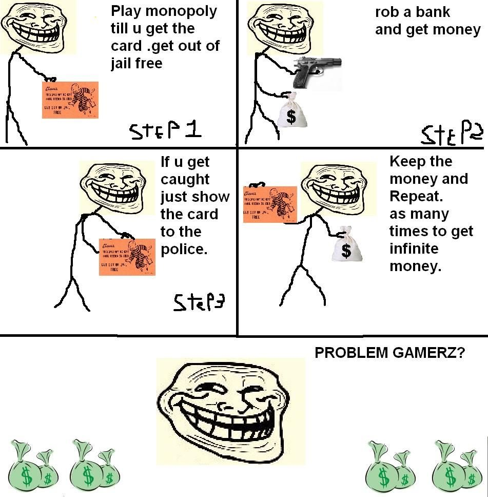 problem - more troll science