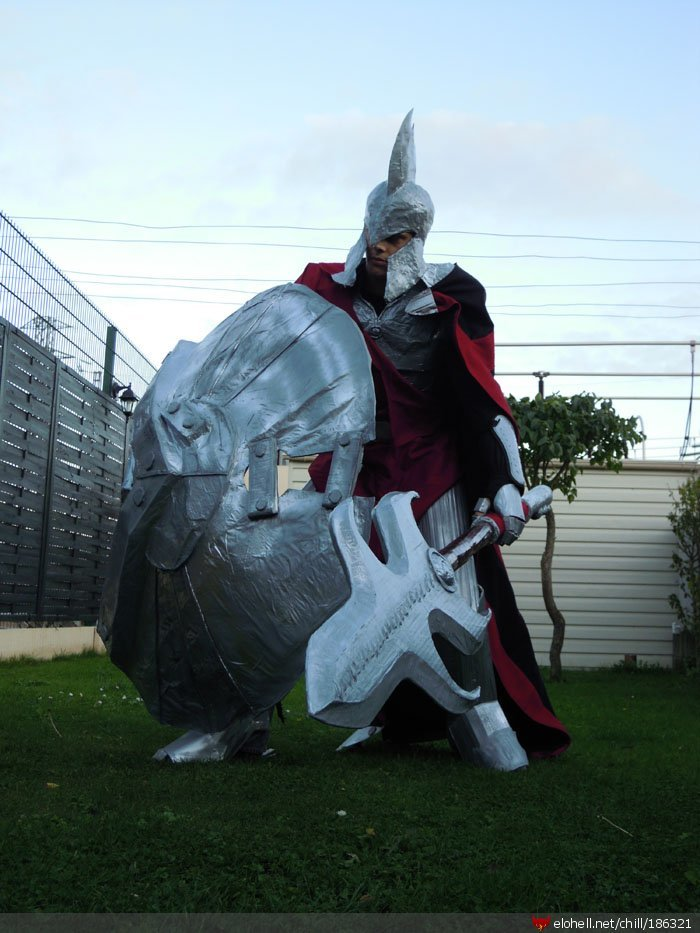 pantheon1 - awesome league of legends cosplay