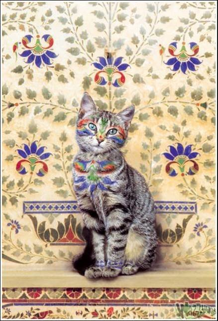 picture4 - cat painting