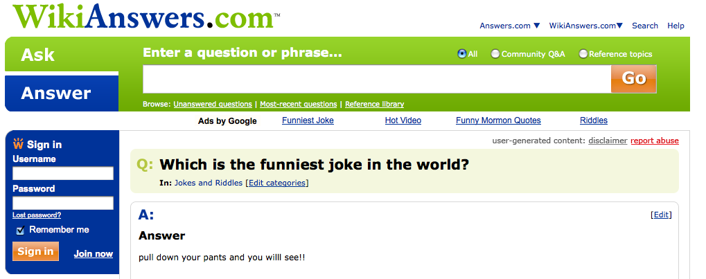 picture 2 - which is the funniest joke in the world?