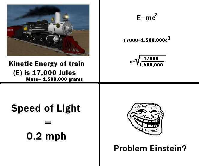 problem20einstein - more troll science