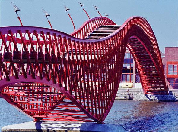pythonbrug - the world's most unusual bridges