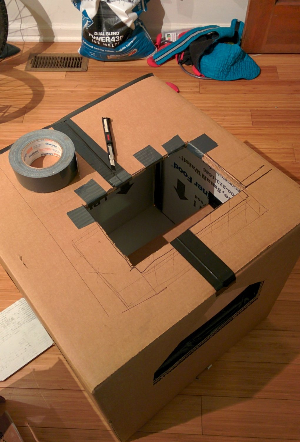 r3kpcbu - why don't we build cardboard castle to our cats? this is how to do it.