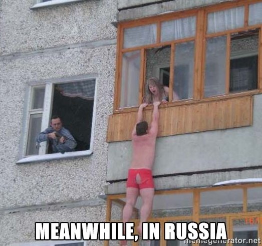 russia - meanwhile in ...