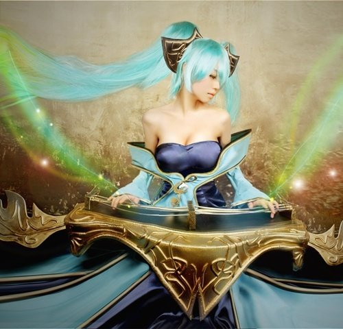 sona4 - awesome league of legends cosplay
