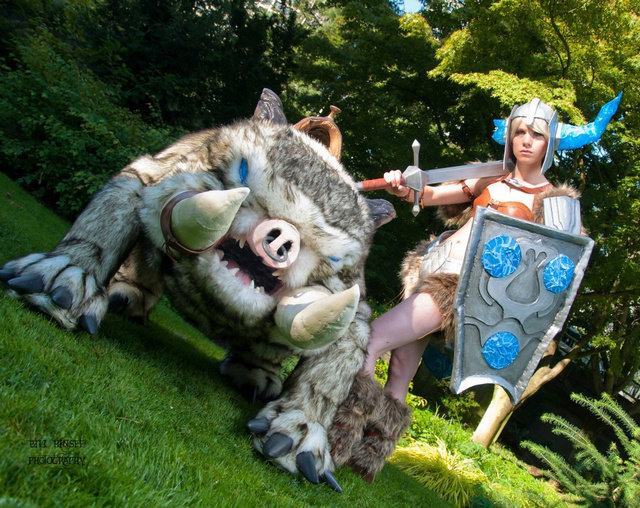 sejuani - awesome league of legends cosplay