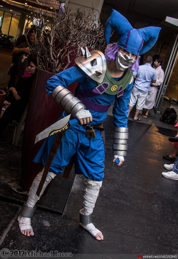 shaco - ultimate league of legends cosplay collection