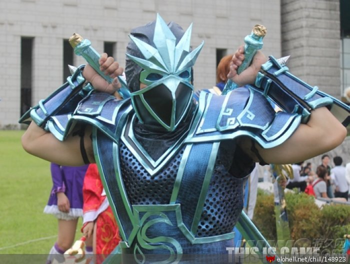 shen - awesome league of legends cosplay