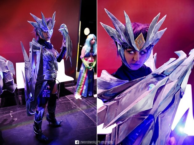 shyvana - awesome league of legends cosplay