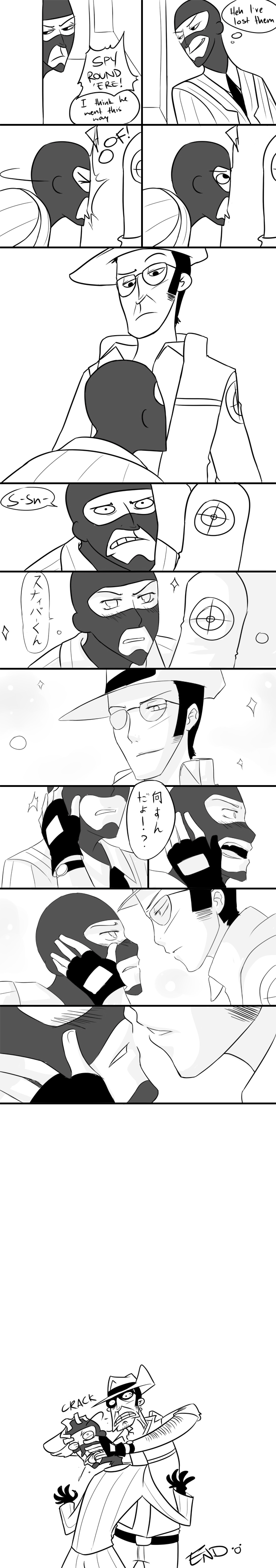 spy - you laugh you lose - comic style