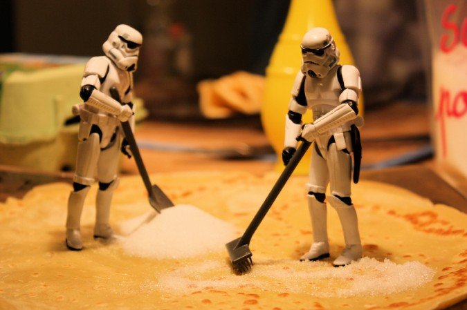 sugar - storm troopers day off - part 5