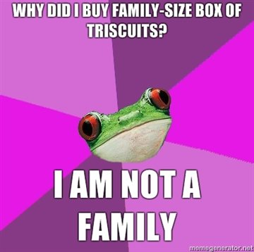 triscuits - foul bachelorette frog